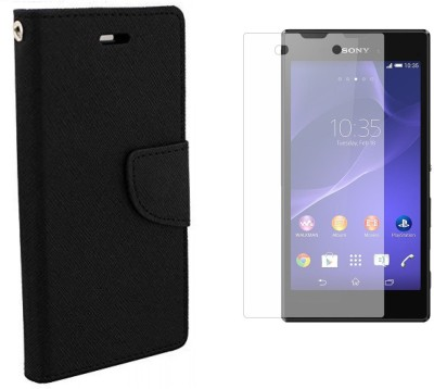 Poonam Cover Accessory Combo for Sony Xperia Z1 MINI(Black, White)