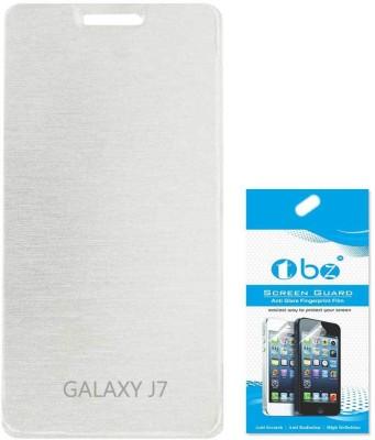 TBZ Samsung Galaxy J7 Accessory Combo White