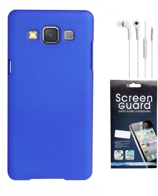 Coverage Coverage Back Cover + Screen Protector + Hands Free For Samsung Galaxy S3 Neo GT I9300I - Red Accessory Combo(Red)