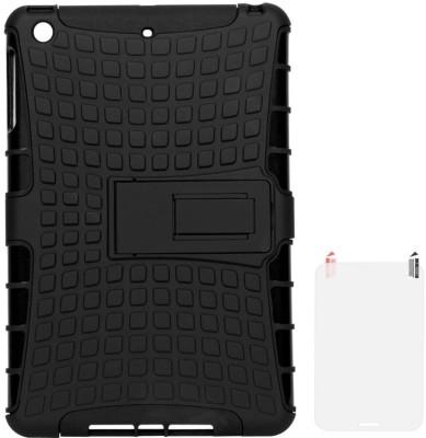DMG Hybrid Kickstand Case for Apple iPad Mini 2 Retina/iPad Mini with Matte Screen Guard Accessory Combo(Black)