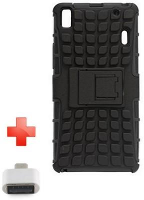 Heirloom Quality Cover Accessory Combo for Lenovo A7000/Lenovo K3 Note(Black)