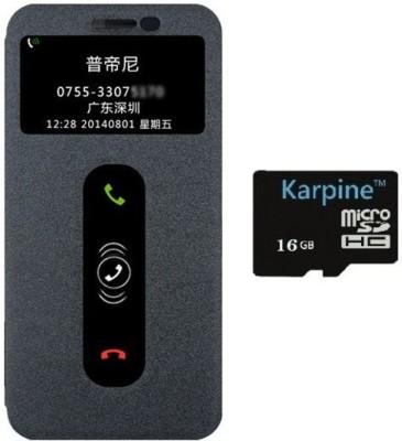 Karpine Lenovo A7000 FC CID Pre Black & 16GB MicroSD Accessory Combo(Black)