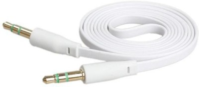 ARe AUMM00021 1 m AUX Cable Compatible with Mobile, White ARe Computers