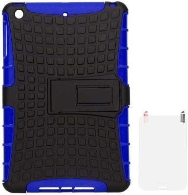 DMG Hybrid Kickstand Case for Apple iPad Mini 2 Retina/iPad Mini with Matte Screen Guard Accessory Combo(Blue)