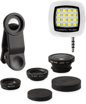 GOGLE SOURCING Mobile Phone Lens Accessory Combo for All Apple Phones, Android Phones , Smartphones Multi colour