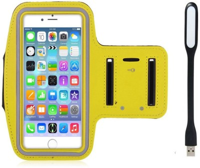 Go Crazzy Cover Accessory Combo for Micromax Canvas EGO A113(Yellow)