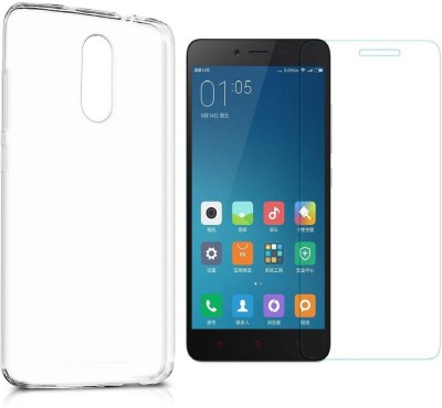 RidivishN Cover Accessory Combo for Xiaomi Redmi Note 4 Transparent RidivishN Mobiles Accessories Combos
