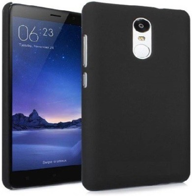 Openbuy Back Cover for Mi Redmi Note 4 Black