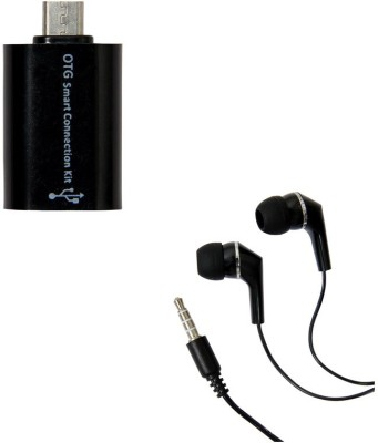 Mocell Headphone Accessory Combo for Samsung Galaxy S 7 Black