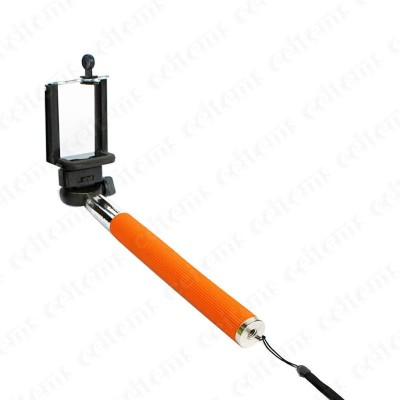 MGPLifestyle Cable Selfie Stick Orange