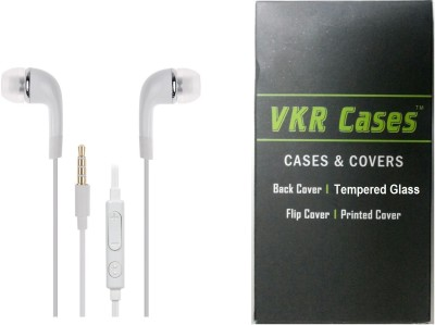 VKR Cases Headset Accessory Combo for Samsung Galaxy Grand Prime G530 White, Transparent