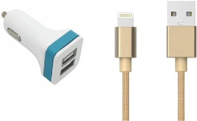 Go4Shopping Wall Charger Accessory Combo for Apple iPhone 5S White