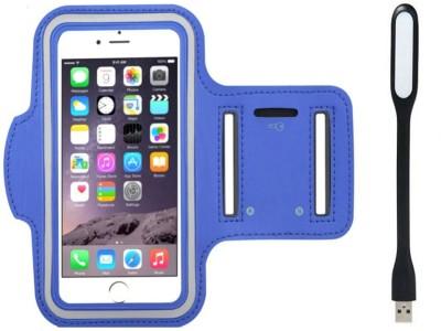 Go Crazzy Cover Accessory Combo for Blu B309A(Blue)