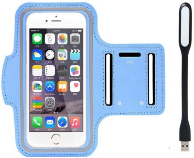 Go Crazzy Cover Accessory Combo for OPPO Find 7a X9006(Sky Blue)