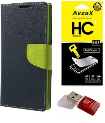 Avzax Cover Accessory Combo for HTC Desire 820(Blue)