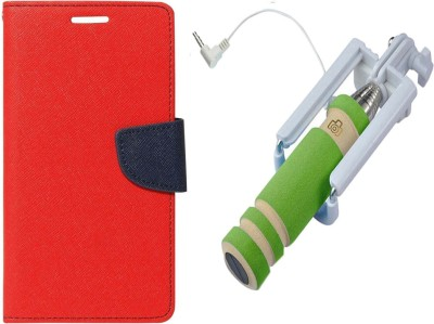 Novo Style Cover Accessory Combo for MicromaxYuYuphoria Red