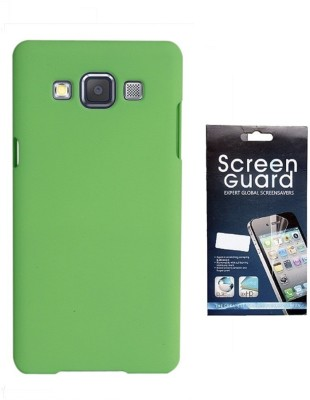 Coverage Coverage Back Cover + Screen Protector For Samsung Galaxy S3 Neo GT I9300I - Green Accessory Combo(Green)