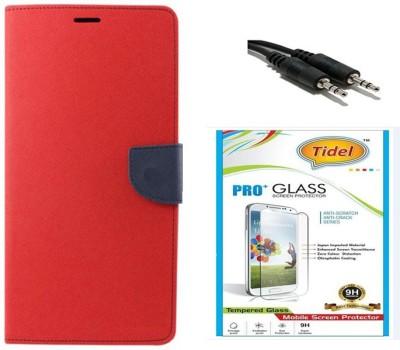 Tidel Case Accessory Combo for Xiaomi Redmi Note 3(Red)