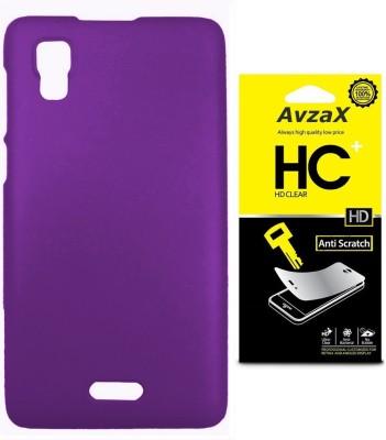 Avzax Cover Accessory Combo for Micromax Canvas Doodle 3 A102(Purple)