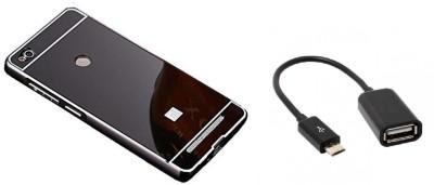 Vcase Cover Accessory Combo for Xiaomi Redmi 3s Prime Black