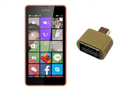 Robmob Screen Protector Accessory Combo for NOKIA Lumia 540(Transparent)