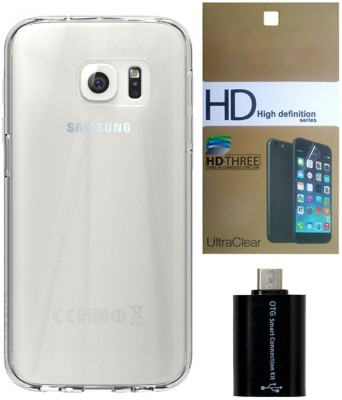 Mocell Case Accessory Combo for Samsung Galaxy S 7 Transparent