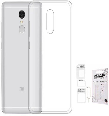 TBZ Cover Accessory Combo for Xiaomi Redmi Note 4 Transparent