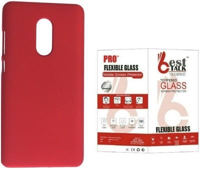 BESTTALK Case Accessory Combo for Xiaomi Redmi Note 4 Red