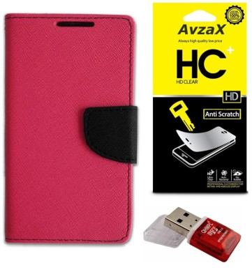Avzax Cover Accessory Combo for Samsung Galaxy Note 3 Neo(Pink)
