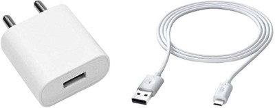 CASVO Wall Charger Accessory Combo for Spice Nexian(White)