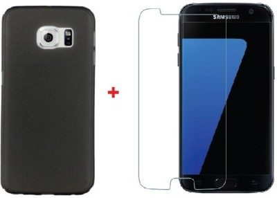 Carrywrap Cover Accessory Combo for Samsung Galaxy S7(Black, Transparent)