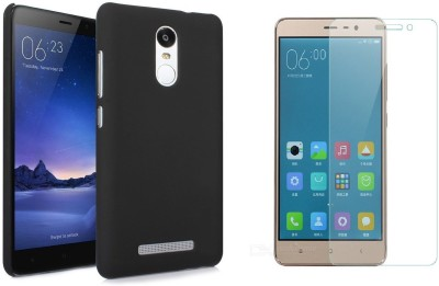 Highderabad Tech Cover Accessory Combo for Xiaomi Redmi Note 3(Black, Black)