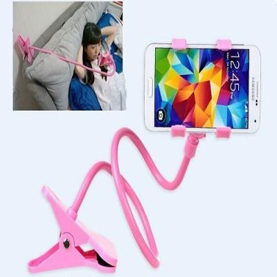 sangaitap Lazy Pinkk001 Mobile Holder, Pink