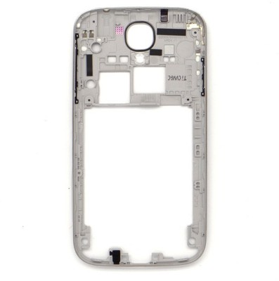 Totta Front & Back Case for Samsung Galaxy S IV S4 i9500(White, Plastic)