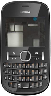 Oktata Nokia Asha 201 Full Panel(Black)