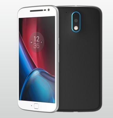 Case Creation Motorola Moto G (4th Generation) Plus Back Panel(Black)