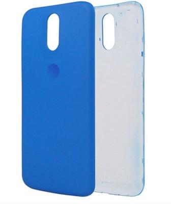 low priced aef19 0ccec Case Creation Motorola Moto G4 Plus, MotoG 4th Generation, Moto G Plus (  4th Gen ) Back Panel(Blue)
