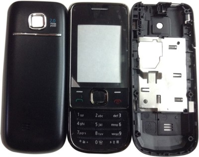 Oktata Nokia 2700 Classic Front & Back Panel(Black) at flipkart