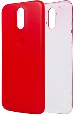 Case Creation Motorola Moto G (4th Generation) Plus Back Panel(Orange)