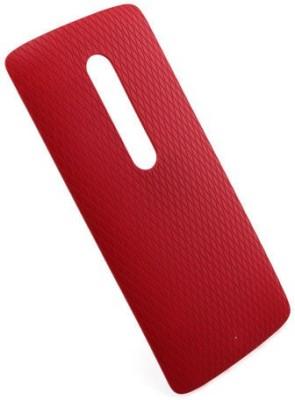 Case Creation Motorola Moto X Play Back Panel(Red)