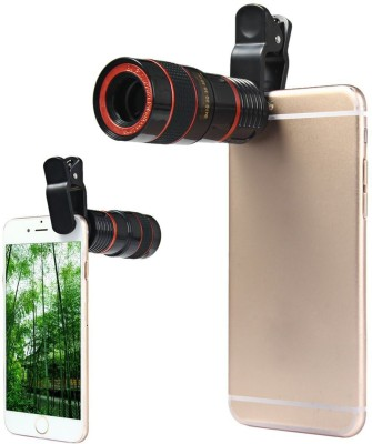 Life Like Universal 8X Zoom Telescope Camera + Adjustable Holder Mobile Phone Lens(Wide and Macro)