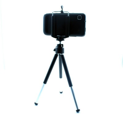 Smiledrive Universal Mobile Tripod with Extendable Legs   Fits all Mobiles Black, Supports Up to 300 g