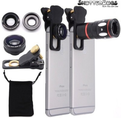 ShutterBugs TLE-01 mobile telescopeic lens and Mobile Phone Lens(Wide and Macro, Telephoto, Fisheye)