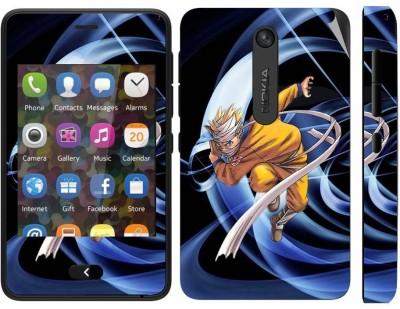 Snooky 164836 Nokia Asha 501 Mobile Skin(multicolour)