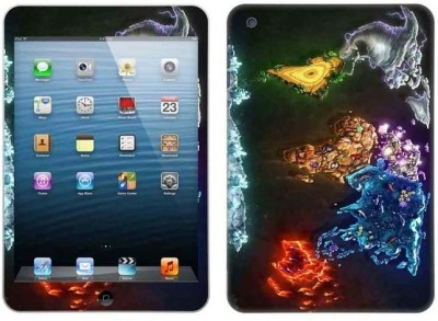 Topskin Skin for Apple i-Pad Air TS-5026 Apple iPad Air Mobile Skin(Multicolor)