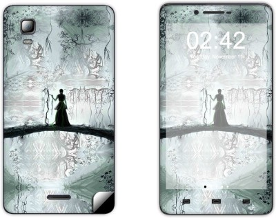 Skintice Skin51788 Micromax Canvas Doodle 3 A102 Mobile Skin Grey available at Flipkart for Rs.299