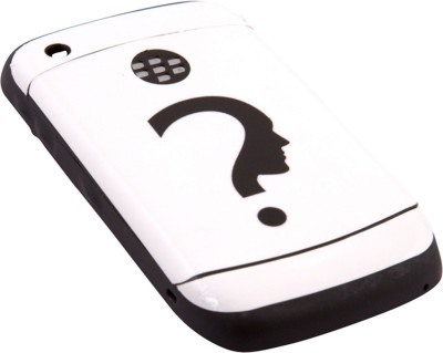Skins N Cases BlackBerry 8530 BlackBerry 8530 Mobile Skin(White, Black)