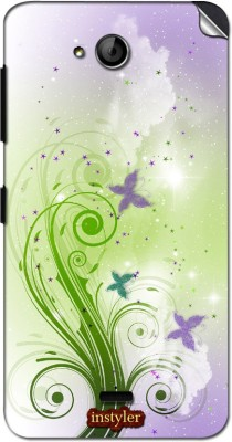 instyler MMX1163 MICROMAX CANVAS PLAY Q355 Mobile Skin(MULTICOLOR)