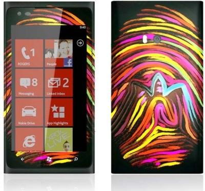 Topskin Nokia Lumia-900-TS-106 Nokia Lumia-900 Mobile Skin(Multicolor)
