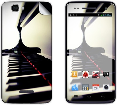 Skintice SKIN39317 Micromax Canvas 2 Colors A120 Mobile Skin Grey  available at Flipkart for Rs.299